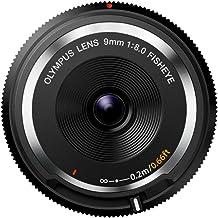 Olympus BCL-0980 - Objetivo para micro cuatro tercios para cámaras OM-D y PEN (distancia focal de 9 mm, apertura f:1:8.0 Fisheye), Negro