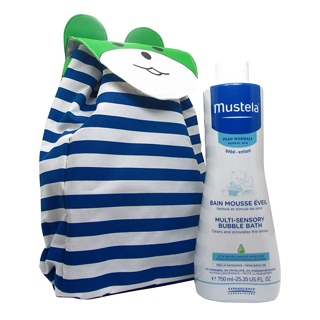 町植物学リストMustela Baby Pack Sensory Bubble Bath 750ml Giant [並行輸入品]