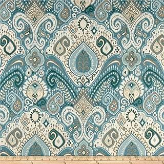 WAVERLY Sun N Shade Boho Passage Fabric, Spa