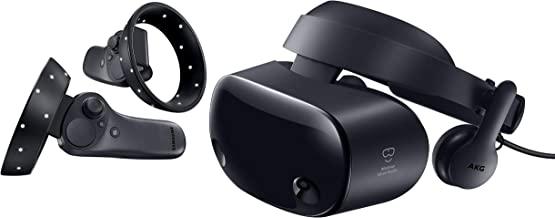 Samsung HMD Odyssey+ Windows Mixed Reality Headset with 2 Wireless Controllers 3.5 Black (XE800ZBA-HC1US)