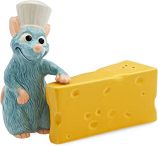 Picnic Time 879-03-512-023-13 Disney//Pixar Ratatouille Brie Acacia Wood Cheese Board Set with Tools 7-Inch