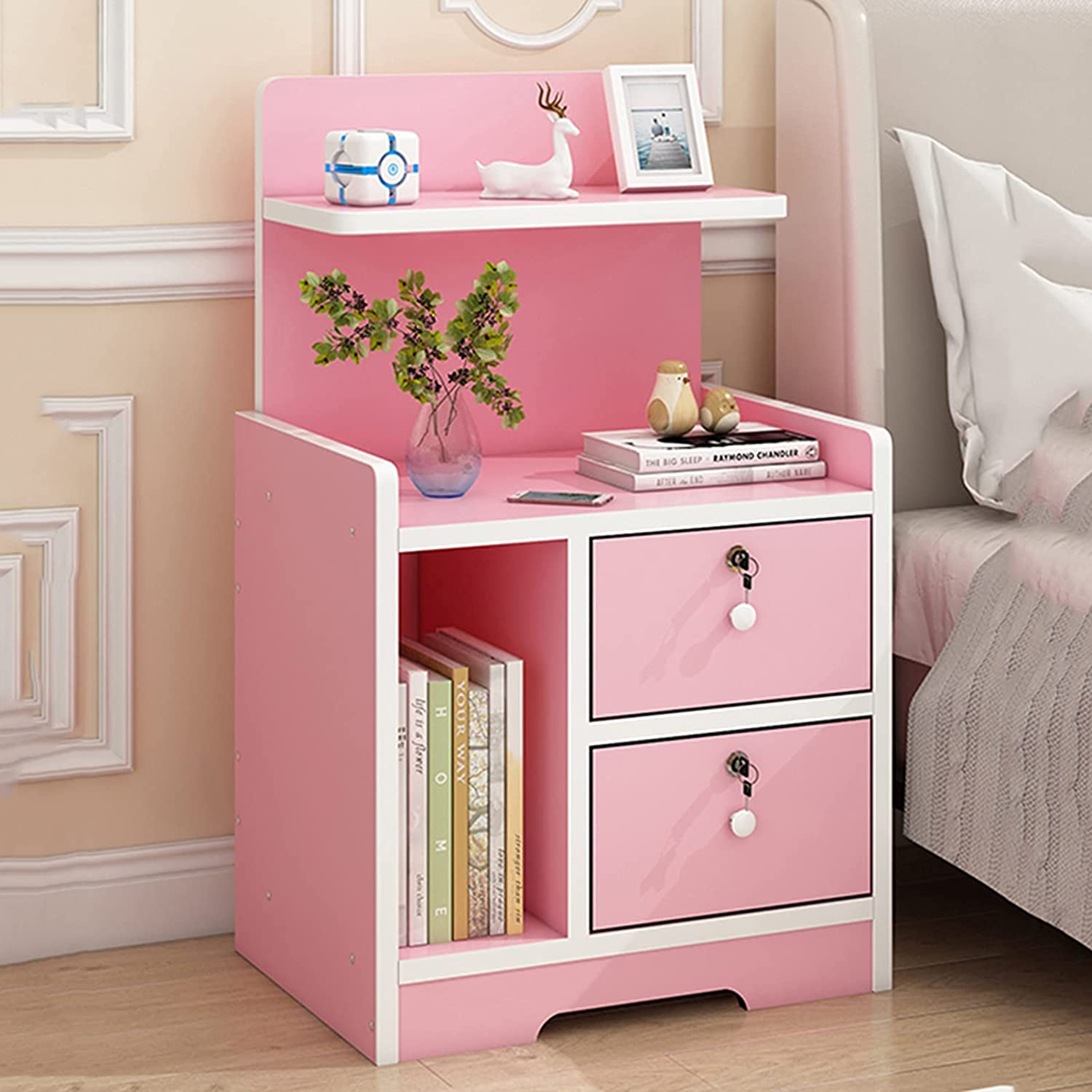 WSNBB Bedside Table Simple Modern Ranking TOP10 Economic Very popular Bedr Small Apartment
