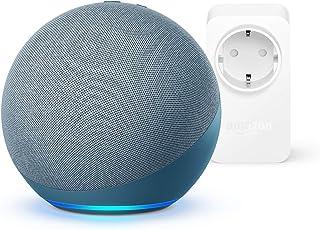 Nuevo Echo (4.ª generación)   Azul grisáceo  + Amazon Smart Plug (enchufe inteligente WiFi), compatible con Alexa