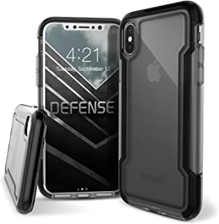 X-Doria iPhone X, iPhone Xs Case, Defense Clear Series - Military Grade