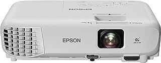 Epson EB-W05 3LCD, HD Ready, 3300 Lumens, 300 Inch Display, WXGA Projector - White