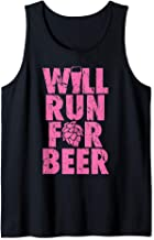The Original Will Run For Beer  Tank Top