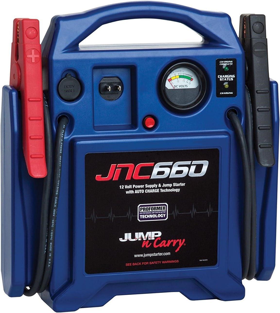 Clore Automotive JNC660 1700 Peak Amp 12 Volt Jump Starter