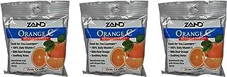 Zand HerbaLozenge Organic Orange (Pack of 3) with Orange Juice, Hibiscus Flower, Orange Peel, Lemon Peel, Rose Hips and Le...