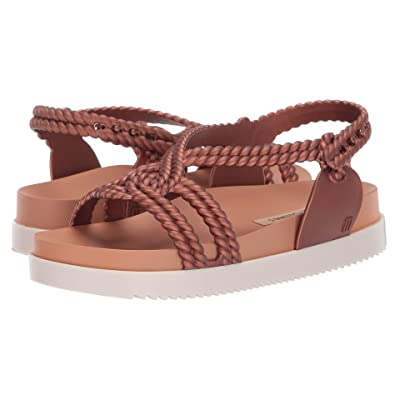Melissa Shoes Cosmic Sandal + Salinas (Copper Penny) Women