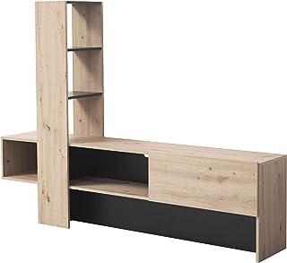 Mobile Porta TV Tavolo TV Mobile Basso per TV ConfortChoice Mobiletti per Soggiorno 100 x 40 x 50 Taube Marrone