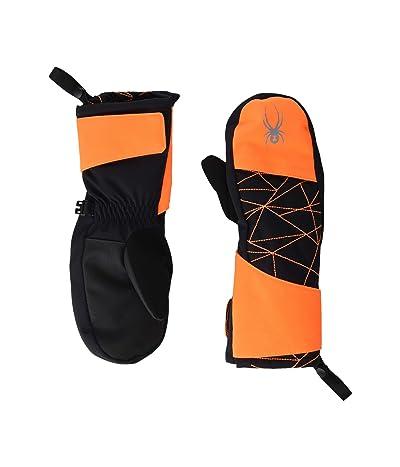 Spyder Kids Mini Cubby (Toddler) (Bryte Orange) Extreme Cold Weather Gloves