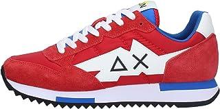 SUN 68 Z31118 Scarpe Uomo Sneakers Sportive Rosse (Numeric_41)