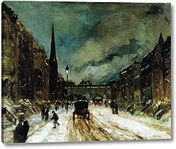 Street Scene with Snow by Robert Henri - 12