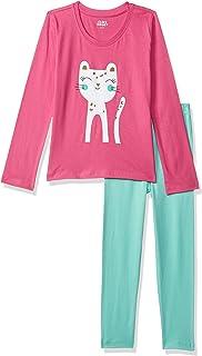 Amazon Brand - Jam & Honey Girls Pajama Set