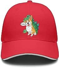 Unisex Casual Baseball Caps Corgi Dinosaur Dragon Costume Halloween Designer AdjustableSun Hats
