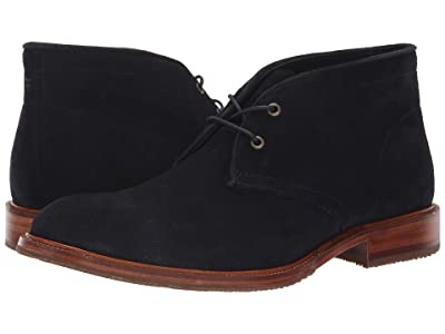 Trask Landers (Navy English Suede) Men