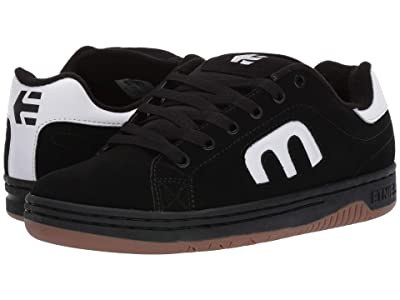 etnies Calli-Cut (Black/White/Black) Men
