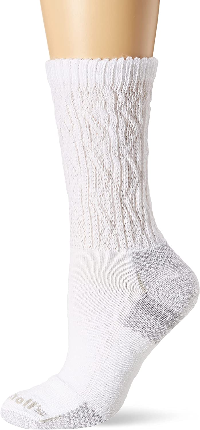 Dr. Scholl's womens Advanced Relief Diabetic & Ciculatory Crew Socks (2 Pack)