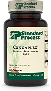 Standard Process Congaplex - Whole Food RNA Supplement, Antioxidant, Immune Support with Thymus, Shiitake, ...