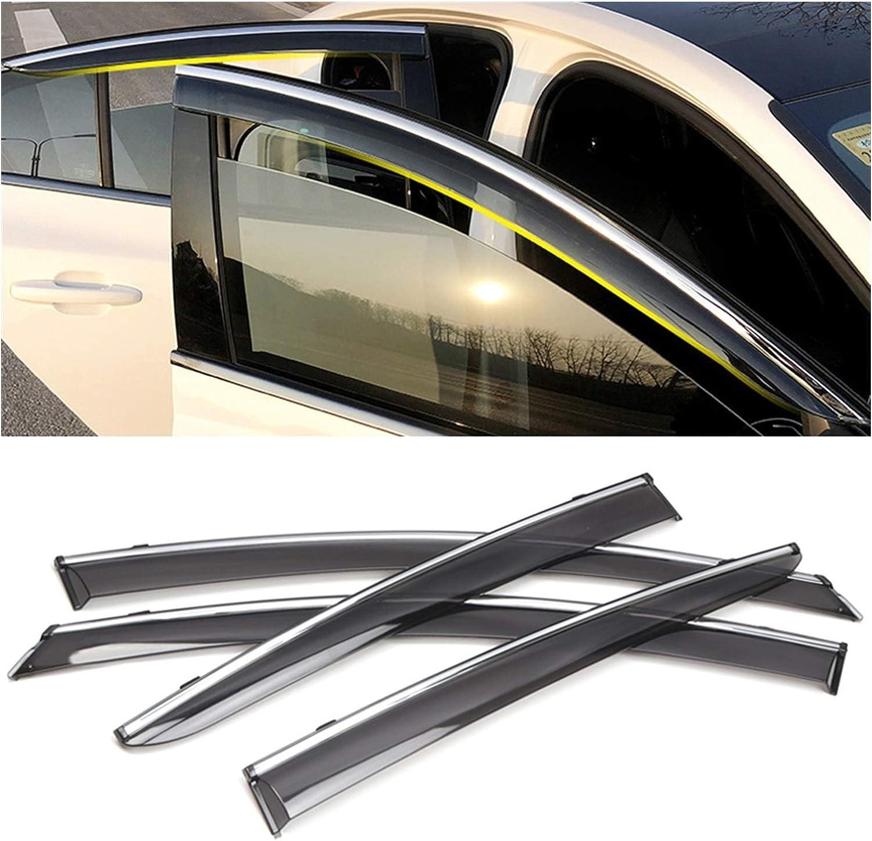 QUXING Window Wind Deflectors for Ford MK4 Focus Omaha Mall 2019 Car 2020 Mesa Mall A