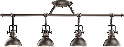 discount Kichler 7704OZ Rail Light 4-Light 2021 Halogen, online Olde Bronze outlet sale