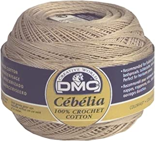 DMC 167G 10-712 Cebelia Crochet Cotton, Cream, 282-Yard, Size 10