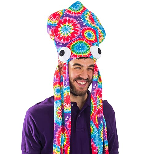 Funny Party Hats Squid Hat - Funny Fun and Crazy Hats in Many Styles faaeb4ddc08