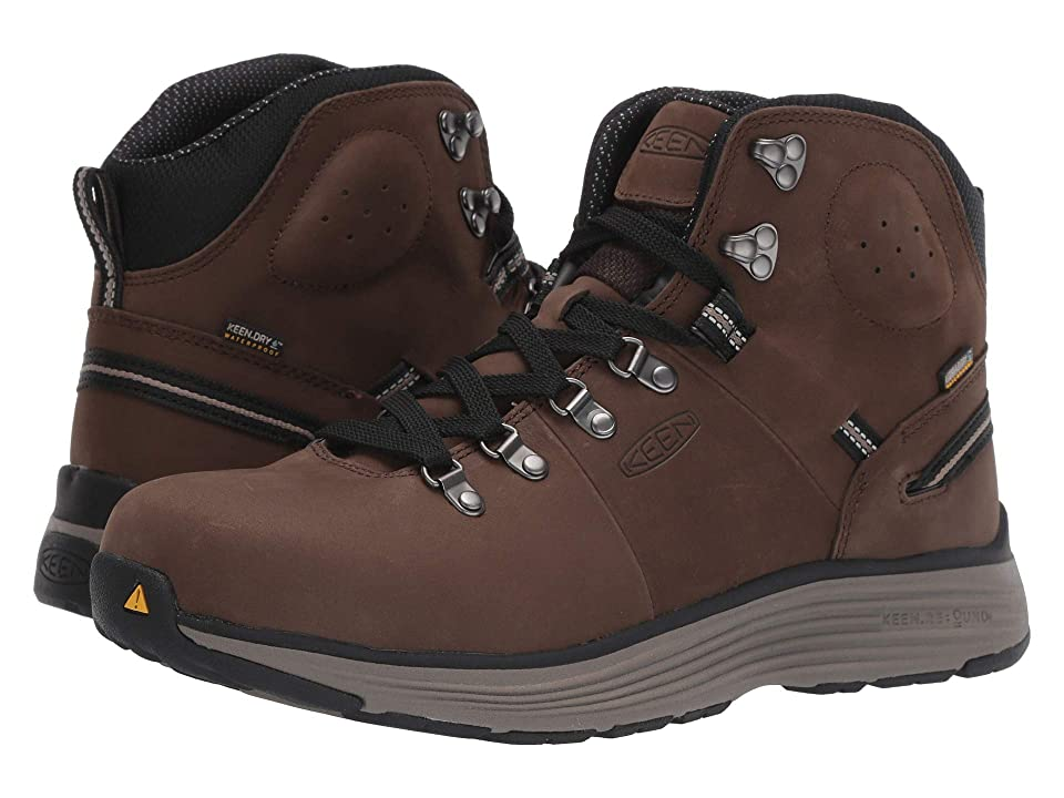Keen Utility Manchester 6 Soft Toe WP (Cascade Brown/Brindle) Men