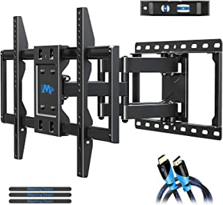 Mounting Dream TV Mount Bracket for 42-70 Inch Flat Screen TVs, Full Motion TV Wall Mounts with Swivel Articulating Dual A...