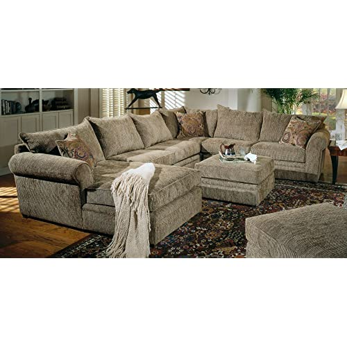 Terrific Chenille Sectional Amazon Com Pdpeps Interior Chair Design Pdpepsorg