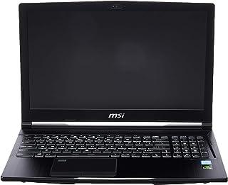 "MSI WE63 8SI-239 15.6"" Mobile Workstation Laptop 94% NTSC Display Quadro P1000 4G i7-8750H 16GB 256GB SSD Aluminum Black"