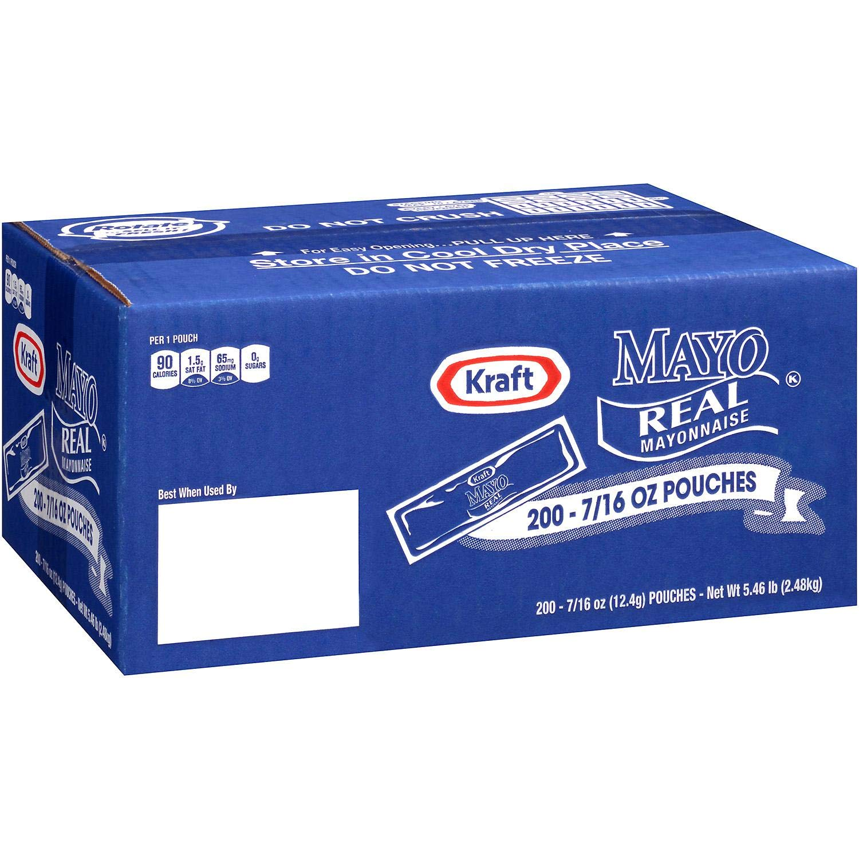 Evaxo Mayo Real Mayonnaise 0.44 oz. Packets Finally Max 60% OFF resale start 200 ct.
