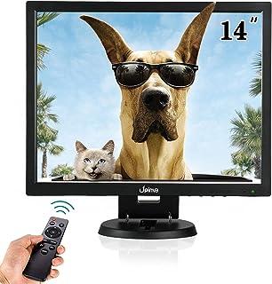 Monitor mobile 14 pollici monitor di sorveglianza telecamera di sicurezza 1024 x 768 schermo Mobile HDMI USB VGA BNC AV Connessioni vari monitor PC LCD Mobile con altoparlante integrato