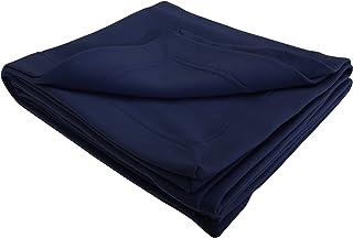 (ギルダン) Gildan ドライブレンド あったか 無地 フリースブランケット フリース毛布 フリースひざ掛け (2パック) (ワンサイズ) (ネイビー)