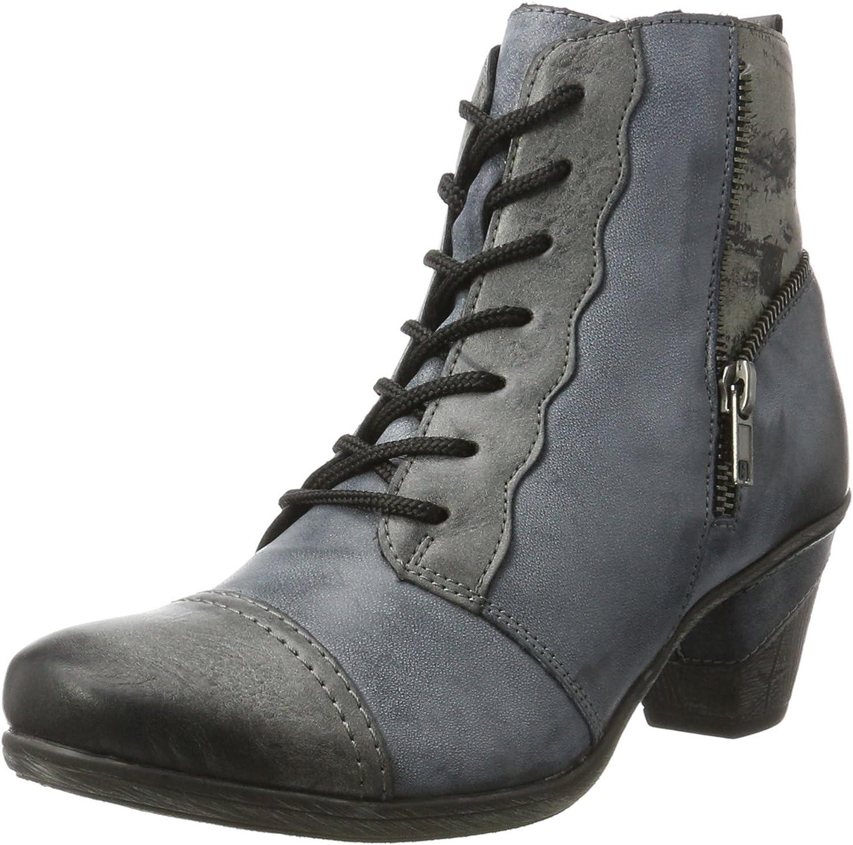 Remonte Damen-Stiefelette - F 1 2 blue 961773-5