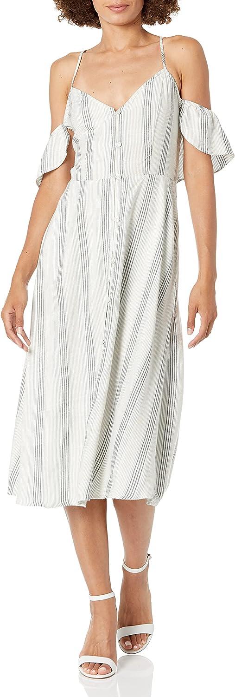 Volcom Women's Winding Roads Midi Length Cami Dress