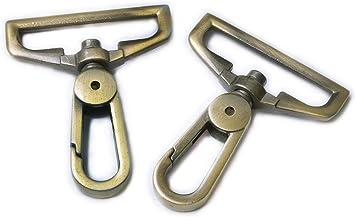 Purse Making swivel Hook  Swivel hook clasp For Bag Purse Strap-38*15mm lx25 6pcs swivel clasp 58inch Wide push gate Swivel hook For Bag