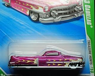 Hot Wheels 2010-045 Custom '53 Cadillac Trea$ure Hunt$ (Super Treasure Hunt) T-Hunts 1:64 Scale