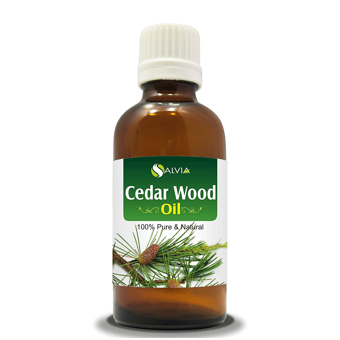 ジャンクガス交通CEDAR WOOD OIL 100% NATURAL PURE UNDILUTED UNCUT ESSENTIAL OIL 50ML