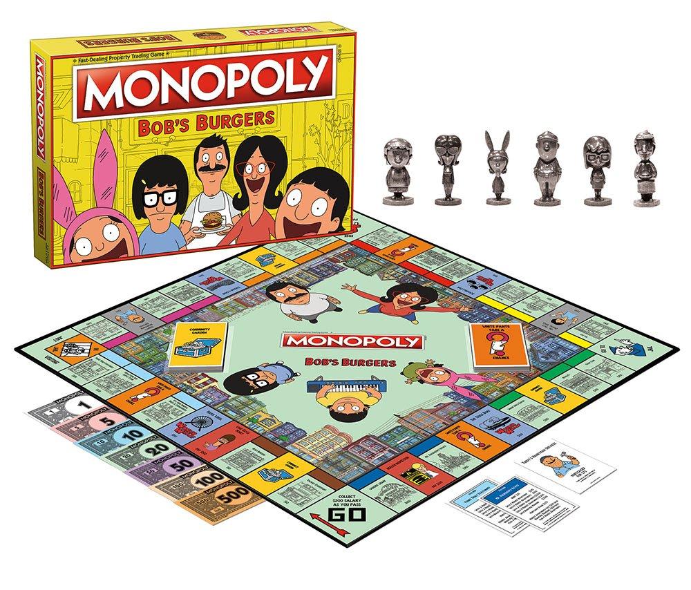USAopoly Bobs Burgers Edition Monopoly Board Game: Amazon.es: Juguetes y juegos