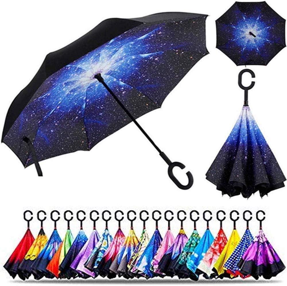 Popularity Smart-Brella - The World's First Nig Umbrella Starry Reversible Max 79% OFF