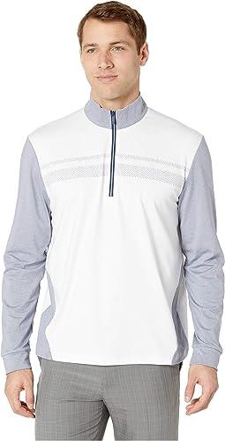 Long Sleeve 1/4 Zip Lightweight Fleece Pullover