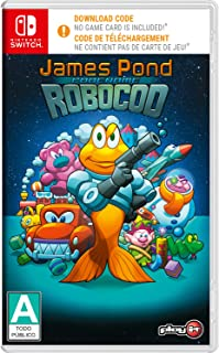 Play It James Pond: Code Name Robocod (import version: North America) - Switch