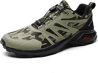Trail Running Shoes Men's Waterproof Shoes Women's Hiking Shoes,Green-50