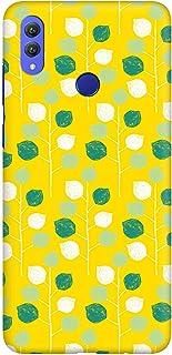 Stylizedd Huawei Honor 8X Slim Snap Basic Case Cover Matte Finish - Summer Leaves