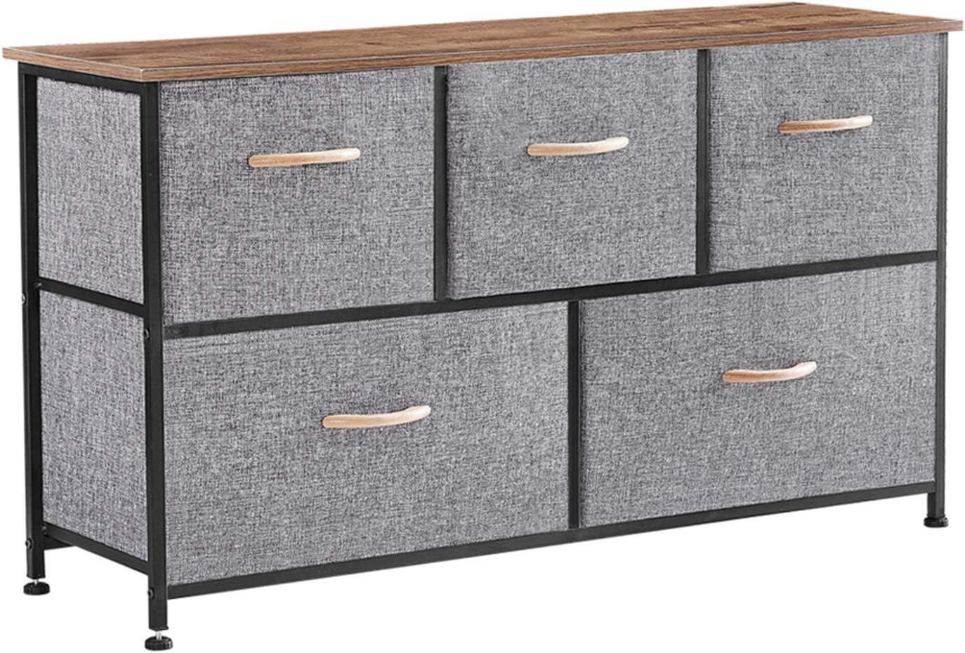 Mushugu gt3-DL 5 Drawer Dresser Tower E Award-winning store Hallway for Bedroom Unit Year-end gift