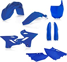 UFO Protections fourches Noir Yamaha 125 250 YZ 08-17 250 450 YZF 04-09