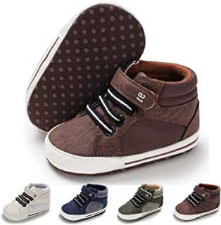 Baby Girls Boys Canvas Shoes Toddler Infant First Walker...