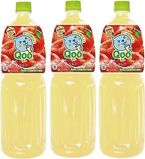 コカ・コーラ ミニッツメイド Qoo わくわくアップル 1.5L PET×3本
