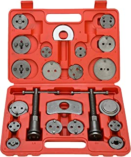 8MILELAKE Brake Caliper Wind Back Tool 22pc Professional Disc Brake Caliper Tool Set